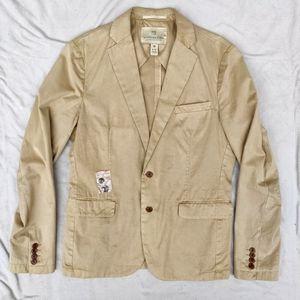 Scotch & Soda Khaki Blazer Suiting Sport Coat
